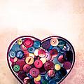 Button Love by Jan Bickerton