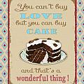 Buy Cake Typography by Jean Plout