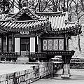 Buyongjeong Pavilion In Secret Garden by Joan Carroll