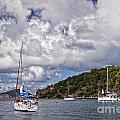 Bvi Clouds by Timothy Hacker