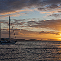 Bvi Sunset by Adam Romanowicz