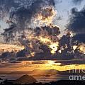 Bvi Sunset  by Timothy Hacker