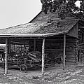 bw Antique Barn by Chris Flees