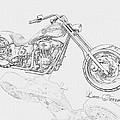Bw Gator Motorcycle by Louis Ferreira