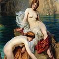 By Summer Seas by Herbert James Draper
