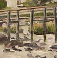 By The Dock by Mary Hubley