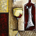 By The Fireside Original Madart Painting by Megan Duncanson