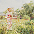By The River by Alfred I Glendening