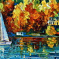 By The Rivershore by Leonid Afremov
