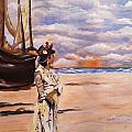 By The Sea by Ryszard Ludynia