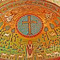 Byzantine Mosaic by Elvis Vaughn