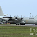 C-130j Super Hercules Of The Royal Thai by Remo Guidi