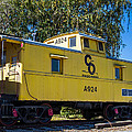 C And O Railroad Car by Anthony Thomas