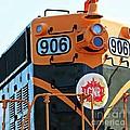C N R Train 906 by Barbara Griffin