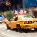 Cab Ride by Karol Livote