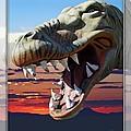 Cabazon Dinosaur by Walter Herrit