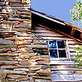 Cabin At Mabry Mill by Glenn Aker