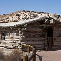 Cabin At Wolf Ranch by Neal Hebert