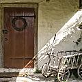Cabin Door by Debby Richards