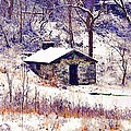 Cabin In The Snow by Bill Cannon