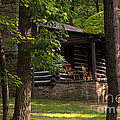 Cabin In The Woods At Lost River State Park In West Virginia by William Kuta