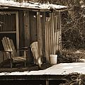 Cabin Porch by Kirt Tisdale