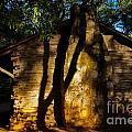 Cabin Shadows by Gary Richards