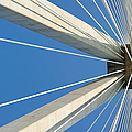 Cable Bridge Abstract by Grigorios Moraitis