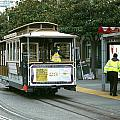 Cable Car At Fisherman's Wharf by Christopher Winkler