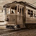 Cable Car In Porto Portugal by Ernesto Santos