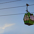 Cable Car In Zaragoza by Pablo Lopez