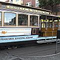 Cable Car Turn-around At Fisherman's Wharf No. 2 by Christopher Winkler