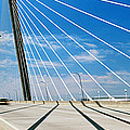 Cable-stayed Bridge, Arthur Ravenel Jr by Panoramic Images