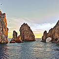 Cabo San Lucas Arch Sunset by Marcia Colelli