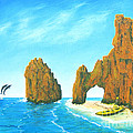Cabo San Lucas Mexico by Jerome Stumphauzer