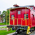 Caboose 476582 by Guy Whiteley