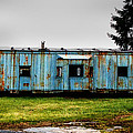 Caboose On A Farm by Bill Swartwout Fine Art Photography