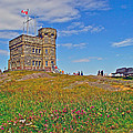 Cabot Tower In Signal Hill National Historic Site In Saint John's-nl by Ruth Hager