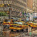 Cabs In The Canyons by David Bearden