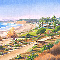Cactus Garden At Powerhouse Beach by Mary Helmreich
