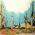Cactus With A 'tude by Mel Murphy
