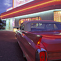 Caddy At Diner by Christian Heeb