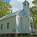 Cades Cove Baptist Church by Adam Jewell