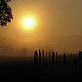 Cades Cove Sunrise IIi by Douglas Stucky