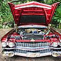 Cadillac Engine by Rudy Umans