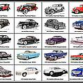 Cadillac La Salle Automotive Poster by Jack Pumphrey