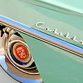 Cadillac Wheel Emblem by Jill Reger