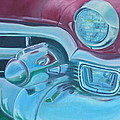 Cadzilla 1953 Cadillac Series 62 Convertible by Anna Ruzsan