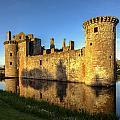 Caerlaverock Castle - 3 by Paul Cannon