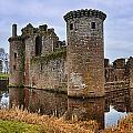 Caerlaverock Castle by Jean-Noel Nicolas